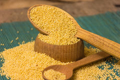 Millet groats Royalty Free Stock Photography