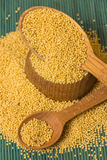 Millet groats Royalty Free Stock Images