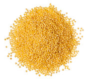 Millet heap Stock Photo