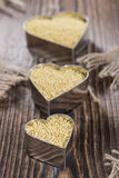 Millet (in a heart shape) Stock Photos
