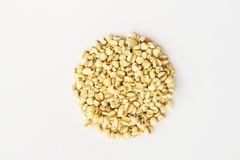 Millet in isolate on white. Millet (grain) in isolate on white background Royalty Free Stock Photos