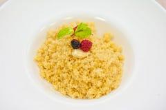 Millet porridge Royalty Free Stock Photos