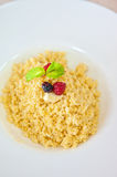 Millet porridge Royalty Free Stock Photography