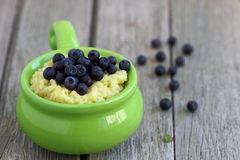 Millet porridge Royalty Free Stock Photos