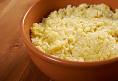 Millet porridge Royalty Free Stock Images