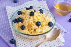 Millet porridge Stock Image