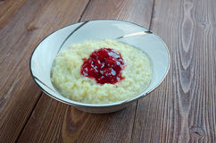 Millet porridge Royalty Free Stock Images