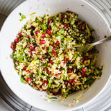 Millet salad Royalty Free Stock Photo