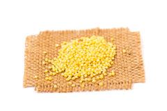 Millet seeds Stock Photos