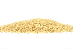 Millet on white Royalty Free Stock Photography