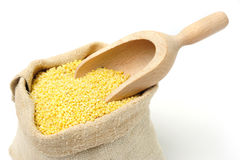 Millets in bag Royalty Free Stock Photo