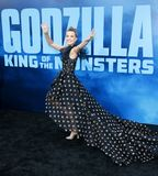 Millie Bobby Brown. At the Los Angeles premiere of `Godzilla: King Of The Monsters` held at the TCL Chinese Theatre in Hollywood, USA on May 18, 2019 stock photography