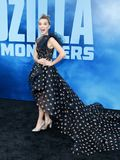Millie Bobby Brown. At the Los Angeles premiere of `Godzilla: King Of The Monsters` held at the TCL Chinese Theatre in Hollywood, USA on May 18, 2019 royalty free stock image