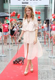 Millie Mackintosh. Launches the Sunday Strut, a host of fashionable fundraisers take part in a catwalk strut across London, in aid of The Prince's Trust. 18/08/ Stock Image