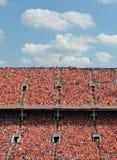 Milliers dans l'orange Photo libre de droits