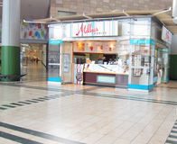 Millies Cookies store. Stock Photography