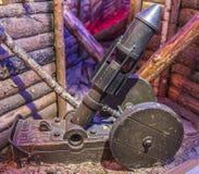 58-millimètre échantillon 1915 du mortier DF Image stock