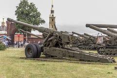 180-millimètre arme à feu S-23, mod 1956 Image libre de droits