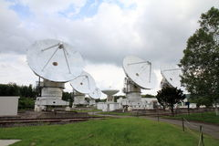 Millimeter array of Nobeyama radio observatory. In Japan royalty free stock photo