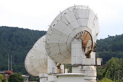 Millimeter array of Nobeyama radio observatory. In Japan stock images