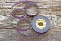 16 Millimeter-Filmbandspule Stockfotos