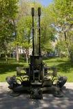23-Millimeter Fliegerabwehrkanone ZU-23-2 Stockbild