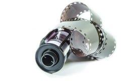 35 Millimeter-negativ Film - Rolle des Kamerafilmes Stockfotografie