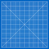 Millimeter paper grid Stock Image