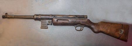 9-Millimeter Probe der Maschinenpistole MP-41 von 1941, Deutschland Lizenzfreie Stockbilder