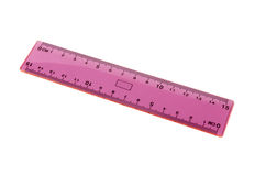 Millimeter ruler Stock Images