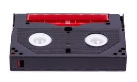 8-Millimeter-Videoband auf weißem Hintergrund Stockbild