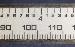 Millimeters and Inches Royalty Free Stock Image