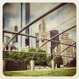 Millineum Park in Chicago Royalty Free Stock Photos