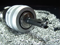Milling cutter Stock Photo