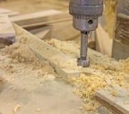Milling-cutter closeup Stock Photos