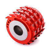 Milling cutter head for wood processing Royalty Free Stock Images