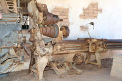 Milling lathe Stock Photography