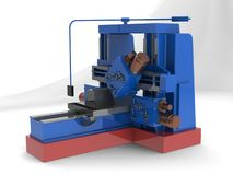 Milling machine Stock Images