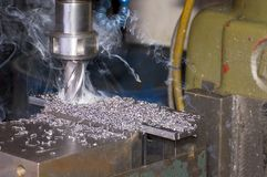 Milling machine Royalty Free Stock Photo