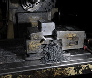 Milling machine Royalty Free Stock Photos