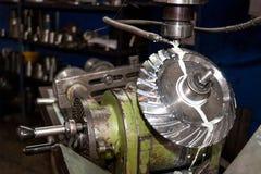 Milling machine Stock Image