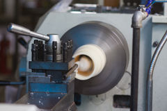 Milling-machine Royalty Free Stock Photo