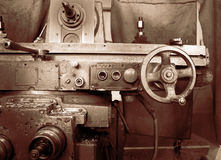 The milling machine tool Royalty Free Stock Image