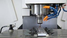 Milling machining center stock video