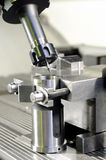 Milling the metal blank Royalty Free Stock Image