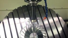 Milling turbine stock video