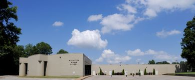 Millington Middle School Wide Angle Royalty Free Stock Image