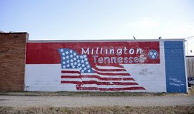 Millington Tennessee Painting Fotografia Stock