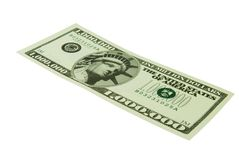 Million. Dollar bill isolated on a white background Stock Image