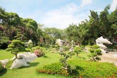 Million d'ans de parc en pierre, Pattaya Thaïlande 05-May-2013 Photographie stock libre de droits